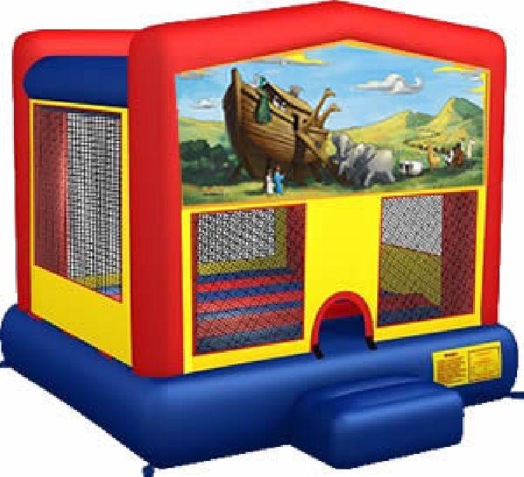 Noah's Ark Themed Bounce House
