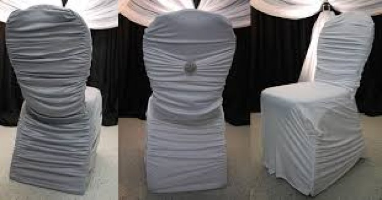 Chair Cover - Silver