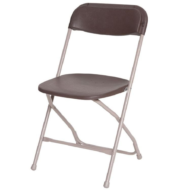 Brown Plastic Chairs
